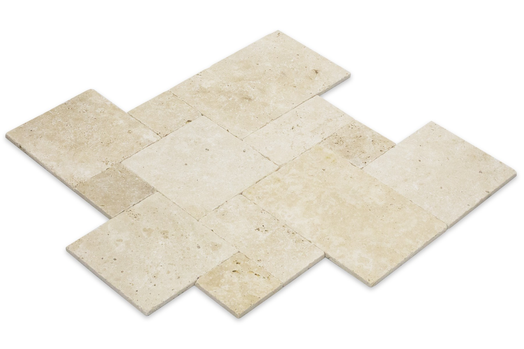 Mini SET   Beige Travertine