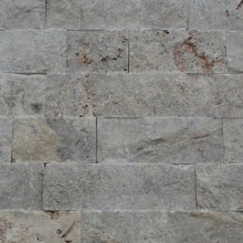 Split Face Rustik   Silver Travertine